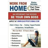 Male Female hiring for work from home jobs